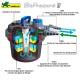Exemple d'installation de filtre pression en bassin