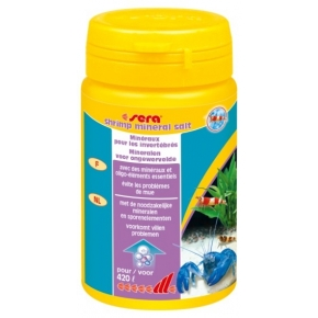 SERA Shrimp Mineral Salt 105g