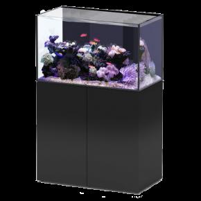 Aquarium AQUATLANTIS Aquaview 92 + Meuble Noir - 253 Litres Eau de Mer - Livraison incluse