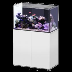 Aquarium AQUATLANTIS Aquaview 92 + Meuble Blanc - 253 Litres Eau de Mer - Livraison incluse