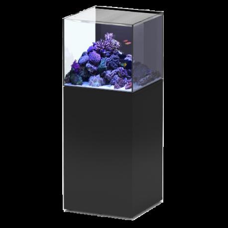 Aquarium Aquatlantis Eau De Mer Aquaview 50 Meuble Noir 113l