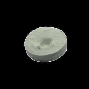 Plug de bouturage en Aragonite - Tête ronde Ø 2,5 cm - Blanc/Rosé