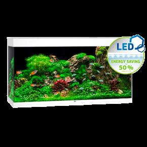 Aquarium Juwel Rio 350 LED sans Meuble - Blanc