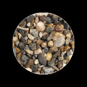 CAPAC Sable pour aquarium Foncé, 3 - 6 mm - 10 Kilos