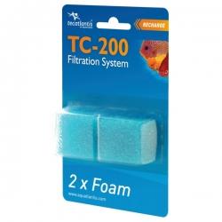 AQUATLANTIS 2x recharges de mousse pour filtre TC-200