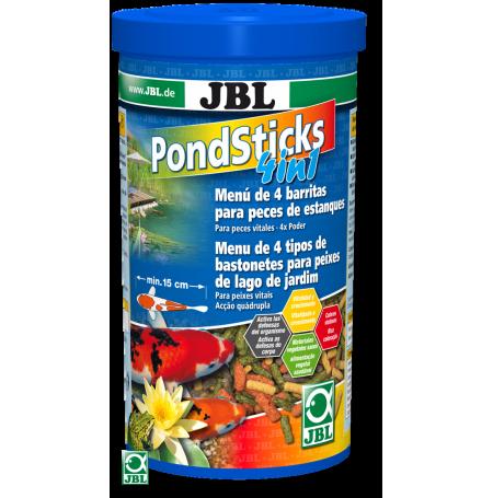 Jbl pond sticks 1 l nourriture pour poisson de bassin for Nourriture pour poisson de bassin