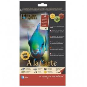 AQUARIUM SYSTEMS Herbivore Diet Mini Granulés A la carte 30g