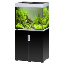 Aquarium EHEIM Incpiria 200 + meuble - Argent et Noir