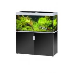 Aquarium EHEIM Incpiria 400 + meuble - Argent et Noir