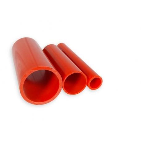 Tube PVC Rouge d°10mm - au mètre