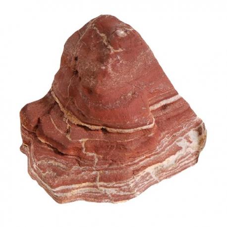 AQUA DECO Fiery Red Rock - Taille S de 0,8 à 1,2 kg - Vendue à l'unité