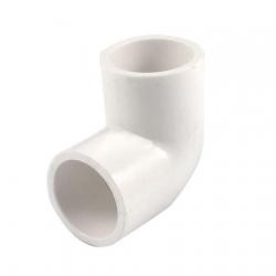 Coude PVC 90° Ø20mm - Blanc