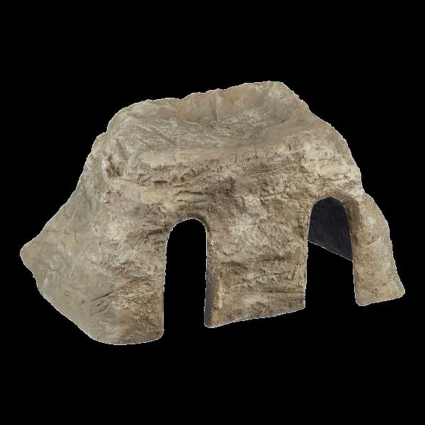 Oase filtocap sable cache filtre de bassin en forme de rocher - Rocher decoratif pour jardin ...