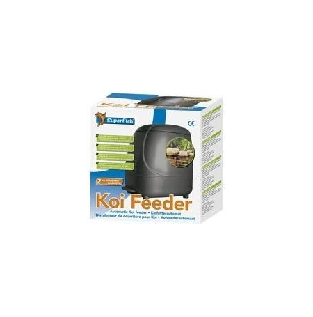 Superfish koi feeder for Nourriture poisson rouge super u