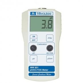 MILWAUKEE MW801 - 3 en 1 Ph/EC/TDS Meters