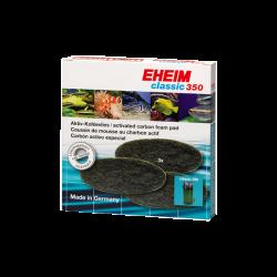 EHEIM Coussins de mousse au charbon actif Classic 350 (Eheim 2215) x3