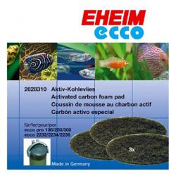 EHEIM 2628310 Mousse Charbon Ecco Pro x3