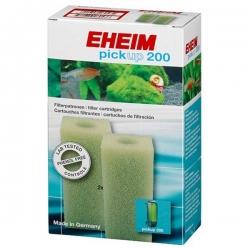 EHEIM Mousses blanches pour Filtre PickUp 200 - Lot de 2