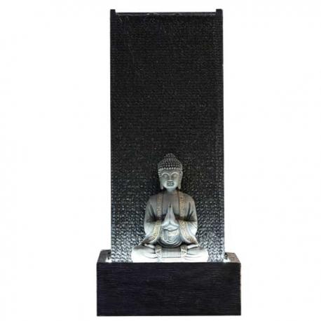 SUNCHINE Fontaine de jardin XL Mur Bouddha - H. 100 x 50 x 30 cm - Livraison comprise
