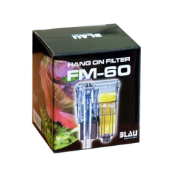 BLAU Hang on Filter FM 60 - Filtre pour aquarium jusqu'à 15 L