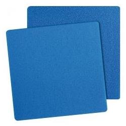 Mousse Bleue pour filtration d'aquarium et bassin 100x100x10 cm