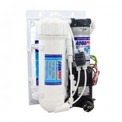 AQUAPRO Osmoseur Aquariopure 400 GPD avec pompe booster - 3 étapes de filtration