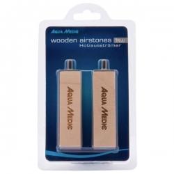 AQUA MEDIC Midi Wooden Airstones, diffuseur en bois- Lot de 2