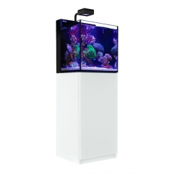 Aquarium RED SEA Max Nano + Meuble blanc + Eclairage ReefLED. Sac de sel RED SEA Salt 7 kg OFFERT