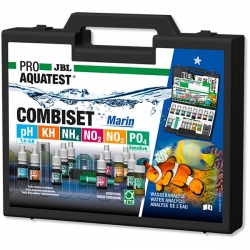 JBL PROAQUATEST COMBISET Marin - Mallette pour 6 tests
