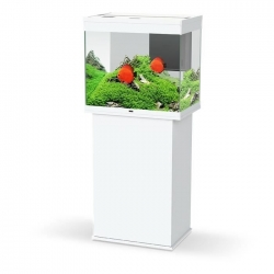 Aquarium CIANO Emotion Nature PRO 60 + Meuble Blanc