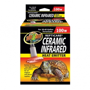 ZOO MED Ceramic infrared, chauffage pour terrarium - 100 Watts