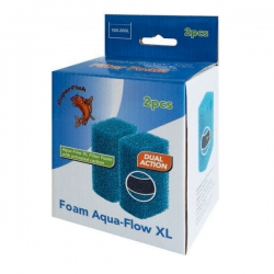 SUPERFISH Foam AquaFlow XL - Mousse bleue - Lot de 2