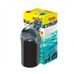 EHEIM Ecco Pro 300 BLACK EDITION + 2 lots de masses filtrantes OFFERTS - Filtre pour aquarium jusqu'à 300 L