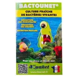 AQUANET Bactounet - Bactéries vivantes - 27 ml