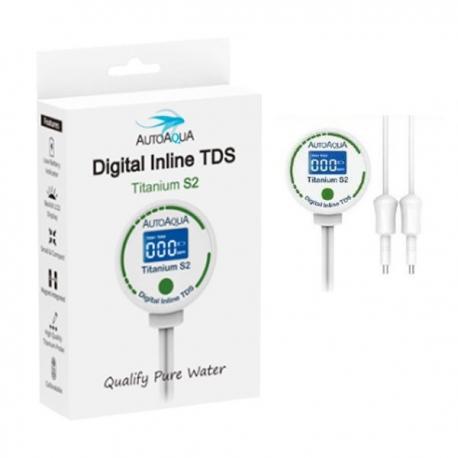 AUTO AQUA Digital Inline TDS Titanium S2 - TDS mètre pour aquarium