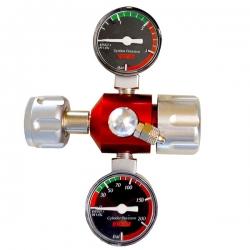 EHEIM Réducteur de pression de CO2 avec manomètre / Détendeur CO2 avec Manomètre pour bouteille réutilisable