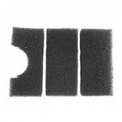 JEBAO Mousses pour filtre UBF6000 - 3 mousses noires