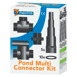 SUPERFISH Pond Multi Connector Kit Ø 20 / 25 / 32 / 40 mm