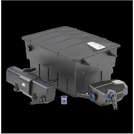 OASE BioTec ScreenMatic 2 Set 40 000 - Filtre + UV + Pompe pour Bassin jusqu'à 40000 L
