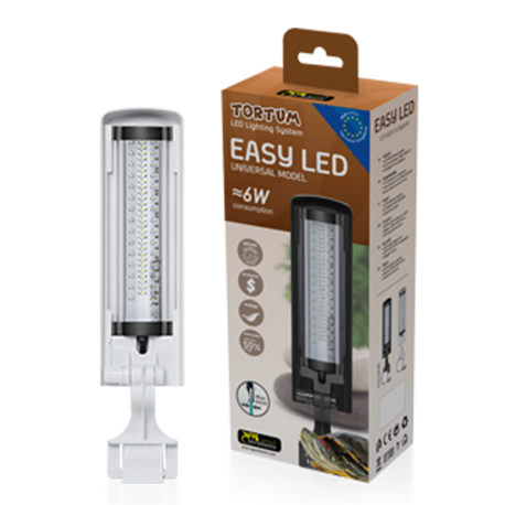 Watts Led 6 Easyled Rampe Tortum Blanc Aquatlantis yf6gb7IYv
