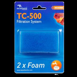 AQUATLANTIS Foam TC-500, recharges filtre pour Aqua Tortum 75