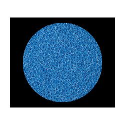 Mousse bleue pour aquarium