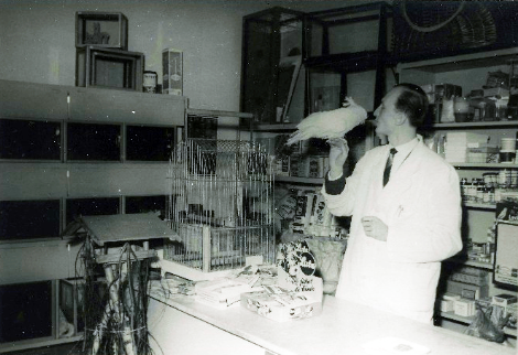 Le premier médicament pour poisson a été créé par Joachim Böhme