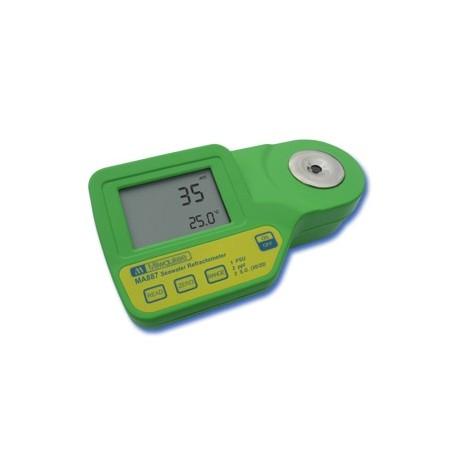 Réfractomètre électronique pour aquarium